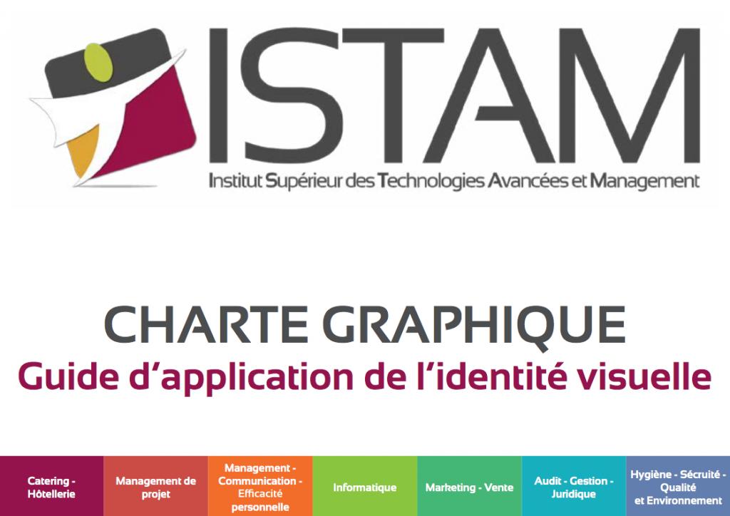 Célèbre Charte graphique ISTAM - Julie LERAT QB15