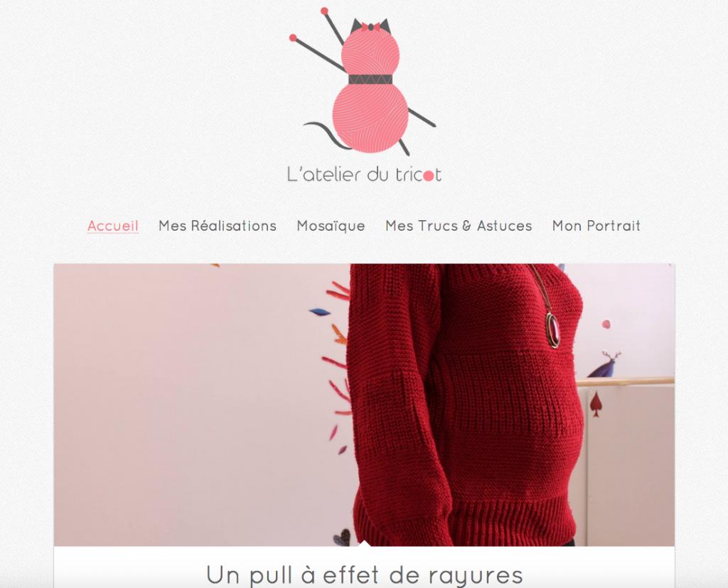 screen shot blog.julielerat.fr