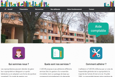 screen shot uscvb.fr